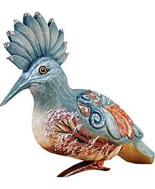 Woodpecker Blue Clip Ornament