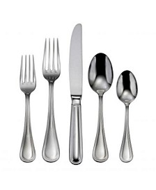 Omnia 62-PC  Flatware Set, Service For 12