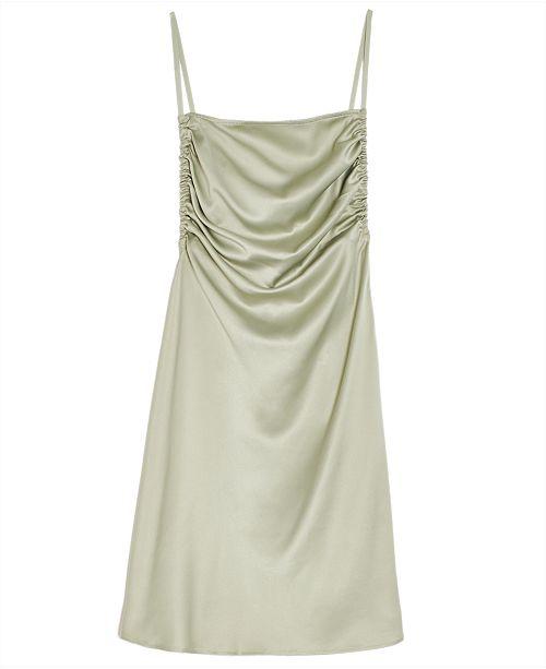 Danielle Bernstein Solid Mini Slip Dress, Created for Macy's
