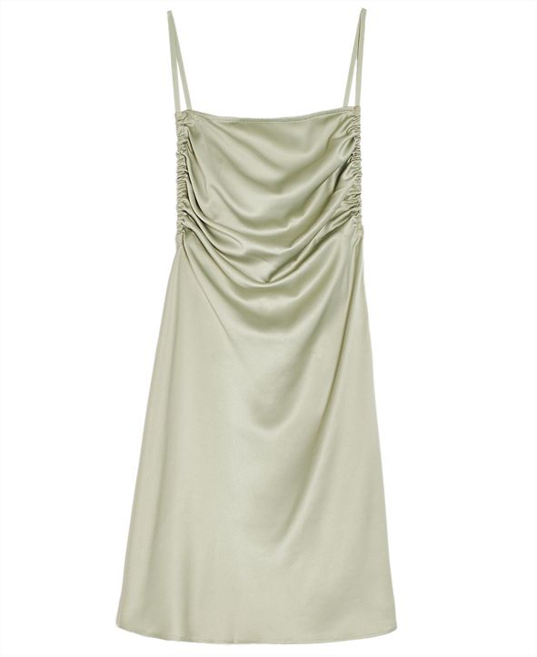 Danielle Bernstein Solid Mini Slip Dress, Created for Macy's