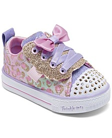 Toddler Girl's Twinkle Toes Shuffle Lite - Sweet Spots Stay-Put Closure Casual Fashion Sneakers from Finish Line