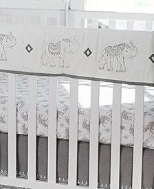 Levtex Baby Elephant Parade Rail Guard