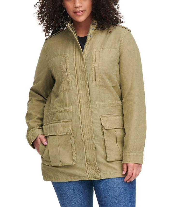 Levi's - Stand-Collar Cotton Anorak Jacket