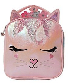 Girls Flower Crown Miss Bella Kitty Lunch Bag