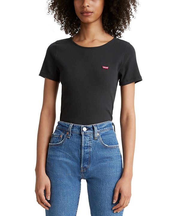 Levi's Honey Ribbed Logo T-Shirt