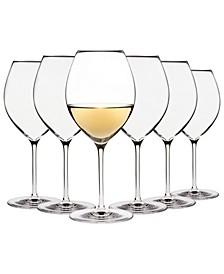 Karen MacNeil Flavor First, Set of 6 Creamy & Silky Wine Glasses
