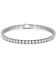 Moissanite Tennis Bracelet (5-1/2 ct. t.w. DEW) in 14k White Gold