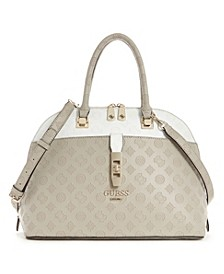 Peony Classic Large Dome Satchel