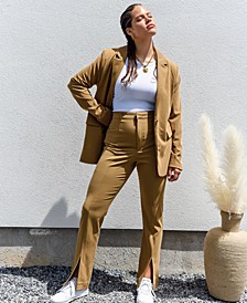 Slit-Front Pants, Created for Macy's