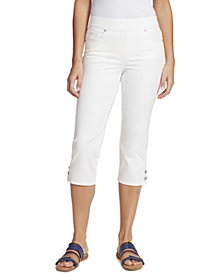 Gloria Vanderbilt Women's Avery Pull-On Capri, in Regular & Petite Sizes