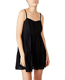 Woven Betty Tiered Mini Dress