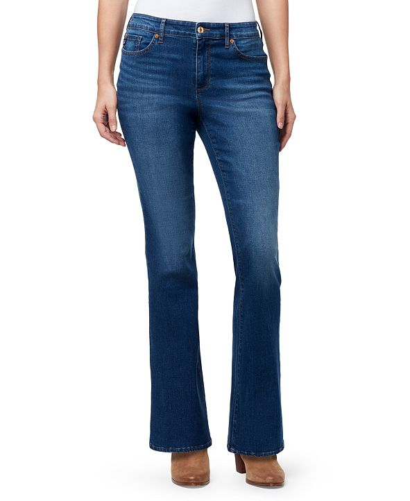 Chaps Women's Mid Rise Bootcut Jeans