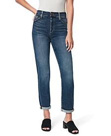 The Niki Mid-Rise Boyfriend Jeans