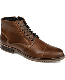 Thomas & Vine Men's Barton Cap Toe Ankle Boot