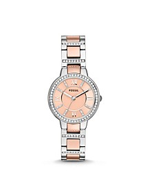 Virginia Two-Tone Stainless Steel Watch 30mm