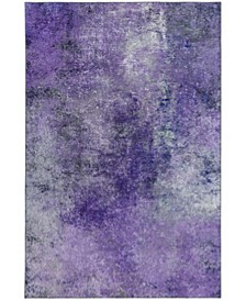 "Nebula NB5 Purple 2'3"" x 7'6"" Runner Rug"