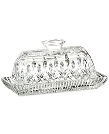 Serveware, Lismore Covered Butter Dish