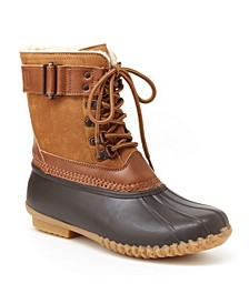 Vancouver Women's Lace Up Duck Boots