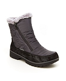 Snowflake Women's Water Resistant Ankle Boots