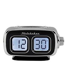 SB3500BK Roommate Retro Digital Bluetooth AM/FM Clock Radio