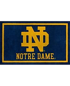 "Notre Dame Colnd Blue 1'8"" x 2'6"" Area Rug"