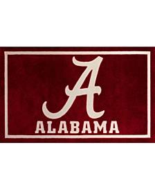 "Alabama Colal Crimson 1'8"" x 2'6"" Area Rug"