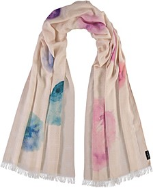 Watercolor Love Scarf