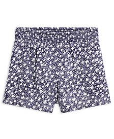 Toddler Girls Floral-Print Shorts