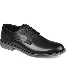Alston Men's Textured Plain Toe Derby Shoe