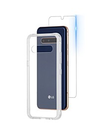 Protection Pack Tough Case and Glass Screen Protector for LG V60 ThinQ