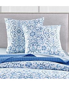 Charter Club Damask Designs Filigree 300-Thread Count European Sham, Created for Macy's