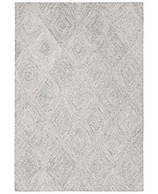 Abstract 767 Silver 5' x 8' Area Rug