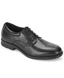 Men's Essential Details Waterproof Apron Toe Oxford