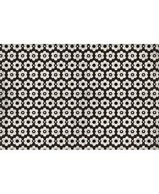 """Florart Chicago Tile Brown 3'9"""" x 5'9"""" Area Rug"""