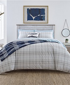 Grays Harbor Plaid Twin Comforter Set