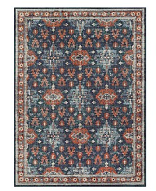 "Soiree Shelburne Indigo 9'6"" x 12'11"" Area Rug"