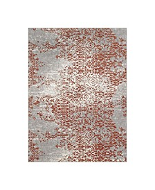 "Soiree Nirvana Copper By Virginia Langley 5'3"" x 7'10"" Area Rug"
