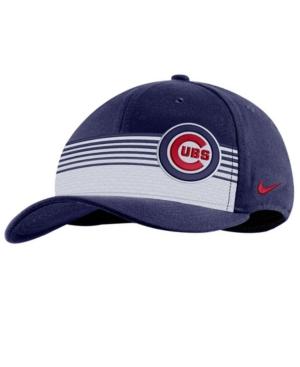 Nike Chicago Cubs Stripe Swooshflex Classic 99 Cap