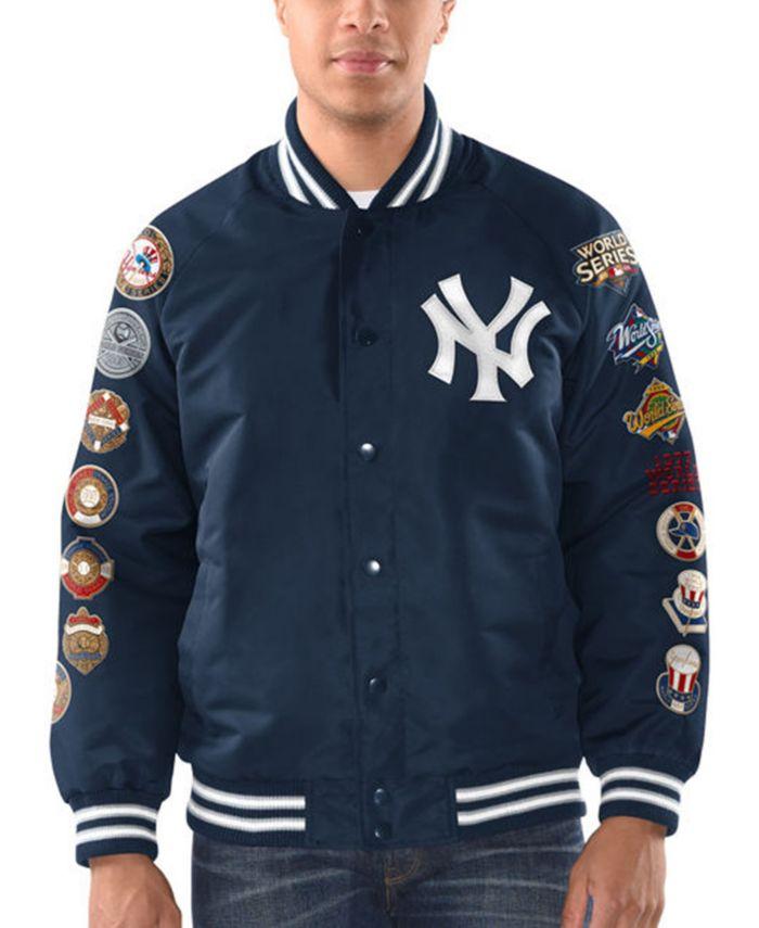 G-III Sports Men's New York Yankees Game Ball Commemorative Jacket & Reviews - Sports Fan Shop By Lids - Men - Macy's