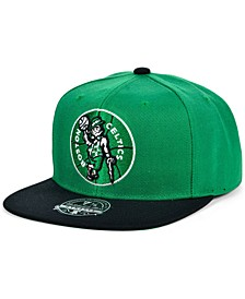 Boston Celtics Wool 2 Tone Fitted Cap