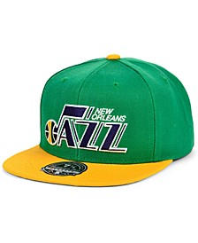 New Orleans Jazz Wool 2 Tone Fitted Cap