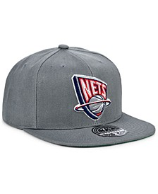 New Jersey Nets Team Ground Fitted Cap