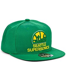 Seattle SuperSonics Team Ground Fitted Cap