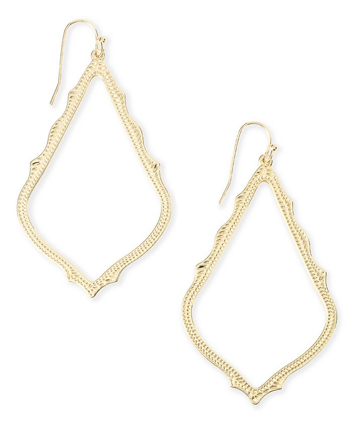 Kendra Scott - Detailed Drop Earrings