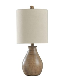 Hardback Fabric Shade Table Lamp