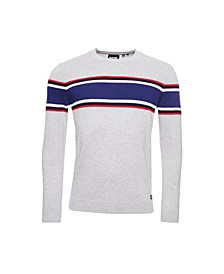 Men's Trophy Stripe Crew Jumper