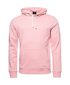 Men's Organic Cotton Standard Label Loopback Hoodie