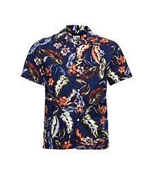 Men's Hawaiian Box Short Sleeve Shirt