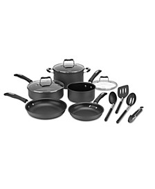 Hard Anodized 12-Pc. Cookware Set