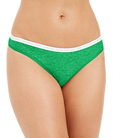 CK One Cotton Singles Thong Underwear QD3783